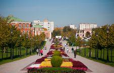 Free Autumn Park. Stock Photo - 16340950