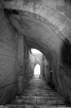 Free Alleyway In Israel Stock Photography - 16342112