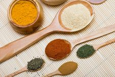 Free Many Different Spices Stock Photos - 16342473