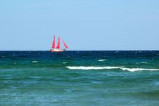 Free Sailboat Royalty Free Stock Photography - 16343177