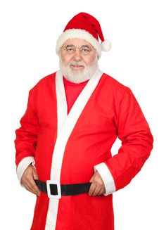 Free Portrait Of Santa Claus Royalty Free Stock Image - 16343226