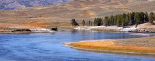 Free Yellowstone River Royalty Free Stock Photos - 16343428