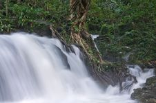 Free Small Waterfall In Thai Forest. Stock Photos - 16343723