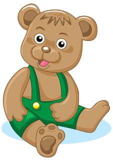 Free Charming Bear Royalty Free Stock Photo - 16343805