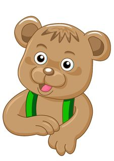 Free Charming Bear Royalty Free Stock Photos - 16343908