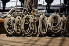 Free Ship Riggings Royalty Free Stock Photo - 16344555