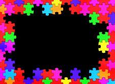 Free Puzzle Frame Stock Image - 16345011