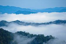 Free Morning Mist At Kaeng Krachan Royalty Free Stock Images - 16345549