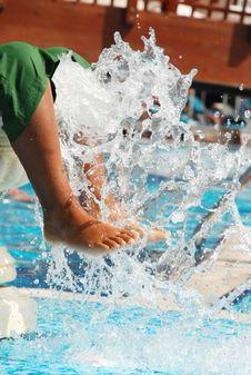 Free Cool Pool Royalty Free Stock Photo - 16346475