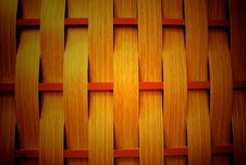 Wood Weave Stock Photo