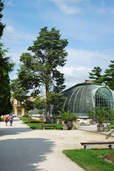 Free Park At Castle Lednice.Hothouse Stock Photography - 16346682