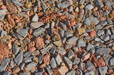 Free Natural Background Of Gravel Royalty Free Stock Photography - 16347057