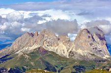 Free Breathtaking View From Marmolada Mountain Stock Photography - 16347062