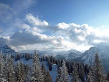 Alps In Germany Royalty Free Stock Photography