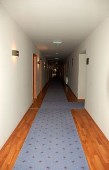 Free Hotel Aisle Stock Images - 16347654