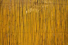 Free Bamboo Fence Stock Images - 16349044