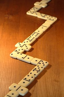 Free Dominoes Game Stock Image - 16349091