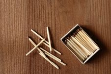 Free Matches Royalty Free Stock Images - 16349179