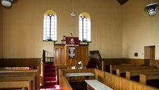 Free Old Church Interior Stock Image - 16349391
