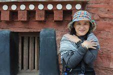Free Girl In Tibet Royalty Free Stock Photos - 16349538