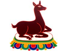 Free Tibetan Painting Of Deer Royalty Free Stock Photos - 16349678