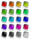 Free Colorful Glossy Buttons Stock Images - 16356364