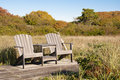 Free Share Print Email Stock Photo : Adirondack Chairs Royalty Free Stock Photography - 16359637