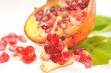 Free Pomegranates Royalty Free Stock Photography - 16350207