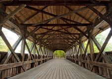 Free Covered Bridge Interior Stock Photos - 16350373