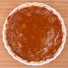 Free Pumpkin Pie Royalty Free Stock Photo - 16350485
