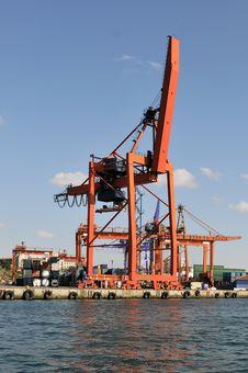Free Cargo Cranes Stock Image - 16350761