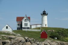 Free Cape Neddick Nubble Stock Photography - 16350802