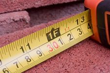 Free Tape Measure Stock Photo - 16350820