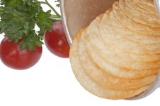 Free Potato Chips Royalty Free Stock Image - 16350906