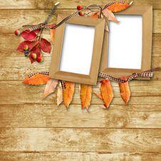 Free Autumn Frame Royalty Free Stock Photos - 16350978