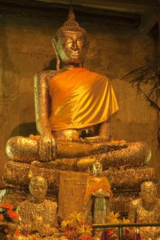 Free Buddha  In Thai Temple Stock Photo - 16351470