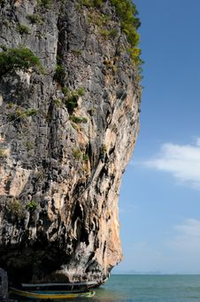 Free James Bond Island Royalty Free Stock Image - 16351646