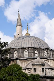 Free Blue Mosque Stock Images - 16351664