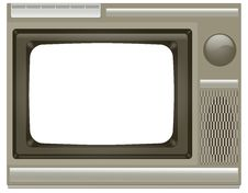 Free Old TV Stock Photo - 16351690