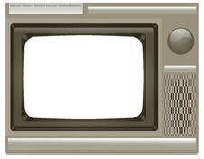 Free Old TV Stock Photo - 16351690