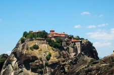 Free Meteora Greece Royalty Free Stock Photos - 16351828