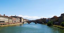 Free Arno River In Florence. Stock Photos - 16351953