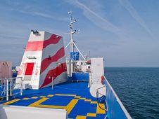 Free Helipad On A Ship Boat Royalty Free Stock Photography - 16352167