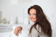 Free Portrait Of Smiling Woman Stock Photography - 16352342