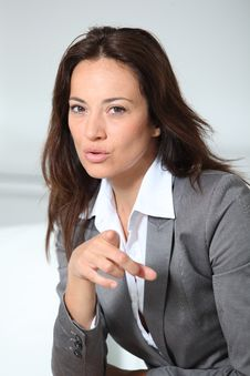 Free Businesswoman Portrait Stock Photos - 16352403