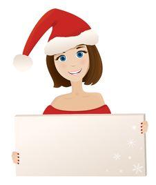 Free Christmas Woman Stock Photos - 16352563