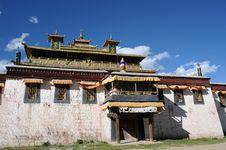 Free Lamasery In Tibet Stock Photo - 16353080