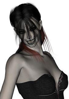 Free Beautiful,sexy, Gothic Female Vampire Royalty Free Stock Image - 16353786