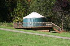Camping Yurt Royalty Free Stock Image