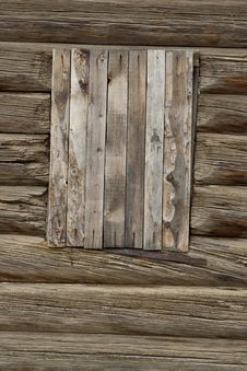 Free Boarded-up Window Stock Photo - 16354370
